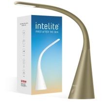 Лампа настольная светодиодная INTELITE 5W бронзовая
