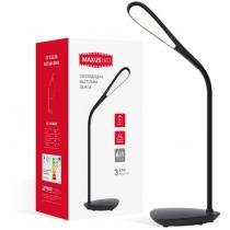 Лампа настольная светодиодная MAXUS DKL 6W Ellipse черная