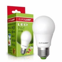 """Лампа світлодіодна ЕКО серія """"D"""" А50 7W E27 4000K, EUROLAMP"""