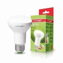 """Лампа світлодіодна ЕКО серія """"D"""" R63 9W E27 4000K, EUROLAMP"""