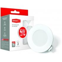 Світильник світлодіодний SDL 4W 3000K, LED Downlight Residential