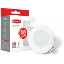 Світильник світлодіодний SDL 8W 3000K, LED Downlight Residential