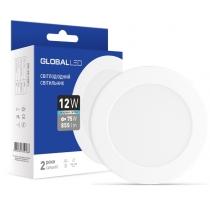 Світильник світлодіодний SPN 12W 4100K C, Global Джерела світла