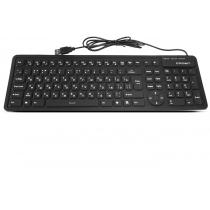 Клавиатура CROWN проводная, гибкая CMК-6002