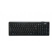 Клавиатура проводная CBR KB 111M, черная, USB