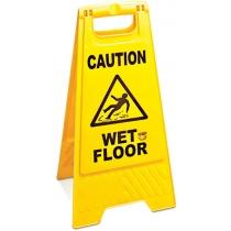 """Табличка """"Обережно волога підлога"""""""