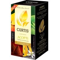 Чай CURTIS 24 шт набір чаю Асорті 4 види по 6 пакетів кожного, класичний зелений
