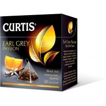 Чай CURTIS Эрл Грей Пэшн 20 шт х 1,7 г черный цейлонский листовой байховый