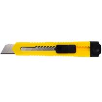 Нож канцелярский 18 мм Economix, пласт. корпус, желтый
