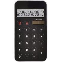 Калькулятор карманный Optima 12 разрядов, размер 115 * 58,5 * 9,6 мм, черный
