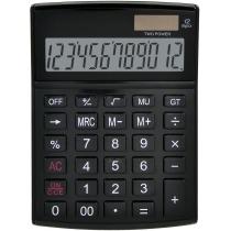 Калькулятор настольный Optima 12 разрядов, размер 146 * 105 * 26 мм, черный
