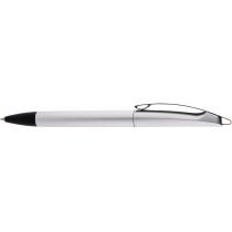 Ручка шариковая OPTIMA PROMO MIAMI. Корпус металлик, пишет синим.