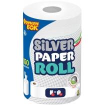 Полотенца бумажные 2 слоя Фрекен Бок ECO Silver, универсальные с ионами серебра, 1 рулон, 150 листов