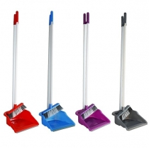 Набор для уборки совок + щетка 21 х 17 см ручка 95,5 см Zambak Plastik