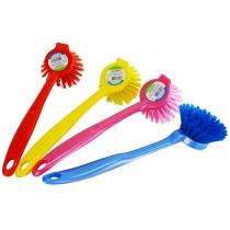 Щетка для мытья посуды круглая Zambak Plastik