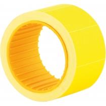 Этикетки-ценники Economix 30х20 мм желтые (200 шт./рул.), E21308-05