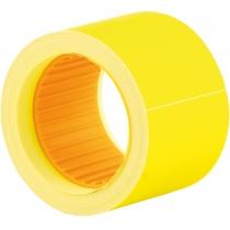 Этикетки-ценники Economix 50х40 мм желтые (100 шт./рул.), E21310-05