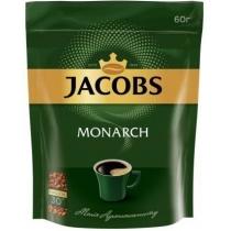 """Кава розчинна Jacobs """"Monarch"""" 60 г економ пакет"""