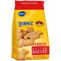 Печенье Лейбниц Минис Баттер сливочное 100г Германия