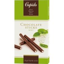 Конфеты шоколадные Купидо трубочки мятные 125г Бельгия