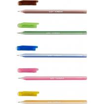 Ручка шариковая TENDER, 0,7 мм, цвет чернил синий, ассорти