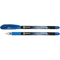 Ручка масляна Optima VISION синя