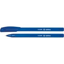 Ручка масляная Optima ELIXIR синяя
