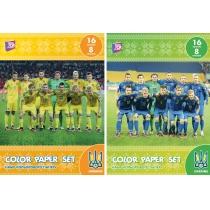 """Набор цветной бумаги """"ФФУ"""", А4 16л., 8 цв., 45 г/м2"""
