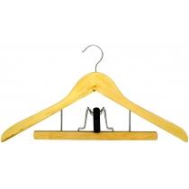 Вешалка для одежды МД с прищепкой для брюк