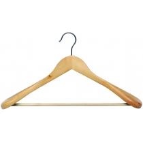 Вешалка для тяжелой одежды с перекладиной МД