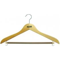 Вешалка буковая для костюмов, рубашек и юбок VILAND