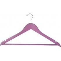 Вешалка деревянная EVERYDAY МД, одежная, розовая