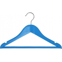 Вешалка подростковая МД для одежды, голубая