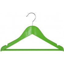 Вешалка подростковая МД для одежды, зеленая