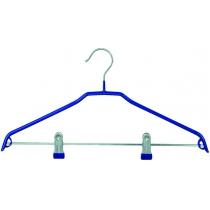 Вешалка металлическая для костюмов с прищепками VILAND