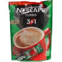 Напиток кофейный Nescafe Turbo 3в1 растворимый, 52 * 16г / уп