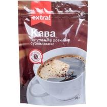 Кофе растворимый Extra! натур.сублимированний пакет, 70г