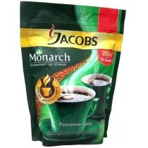 Кофе растворимый Jacobs Monarch натурал екон.пакет, 205г