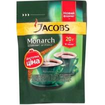 Кофе растворимый Jacobs Monarch эконом пакет, 20г