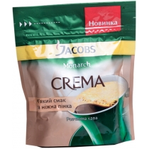 Кава розчинна Jacobs Monarch Крему економ пакет, 65г