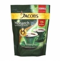 Кава розчинна Jacobs Monarch економ пак., 170г