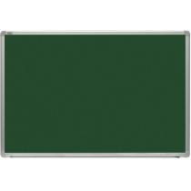 Дошка для писання крейдою, 90x60 см, алюм. рамка Х-line