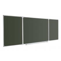 Дошка для крейди ABC 400x100 см, в рамці X-line, трехсекционная