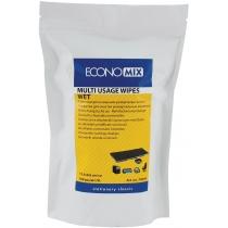 Салфетки для оргтехники, влажные, 100 шт., мягкая упаковка