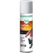 Аэрозоль для гладкой кожи SALAMANDER Leather Fresh, черный