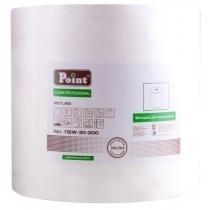 Протирочный нетканый материал Eco Point Wetlight, в рулоне 200 м, промышленный, белый