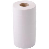 Полотенца бумажные 2 слоя Eco Point Soft, в рулоне 60 м, гладкие, центральная вытяжка, белые