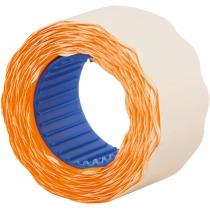 Этикетки-ценники фигурные Economix 26х12 мм оранжевые (500 шт./рул.), E21304-06