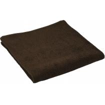 Полотенце махровое 40 х 70 см, хлопок 100%, коричневое