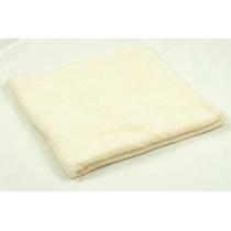 Полотенце махровое 40 х 70 см, хлопок 100%, молочное